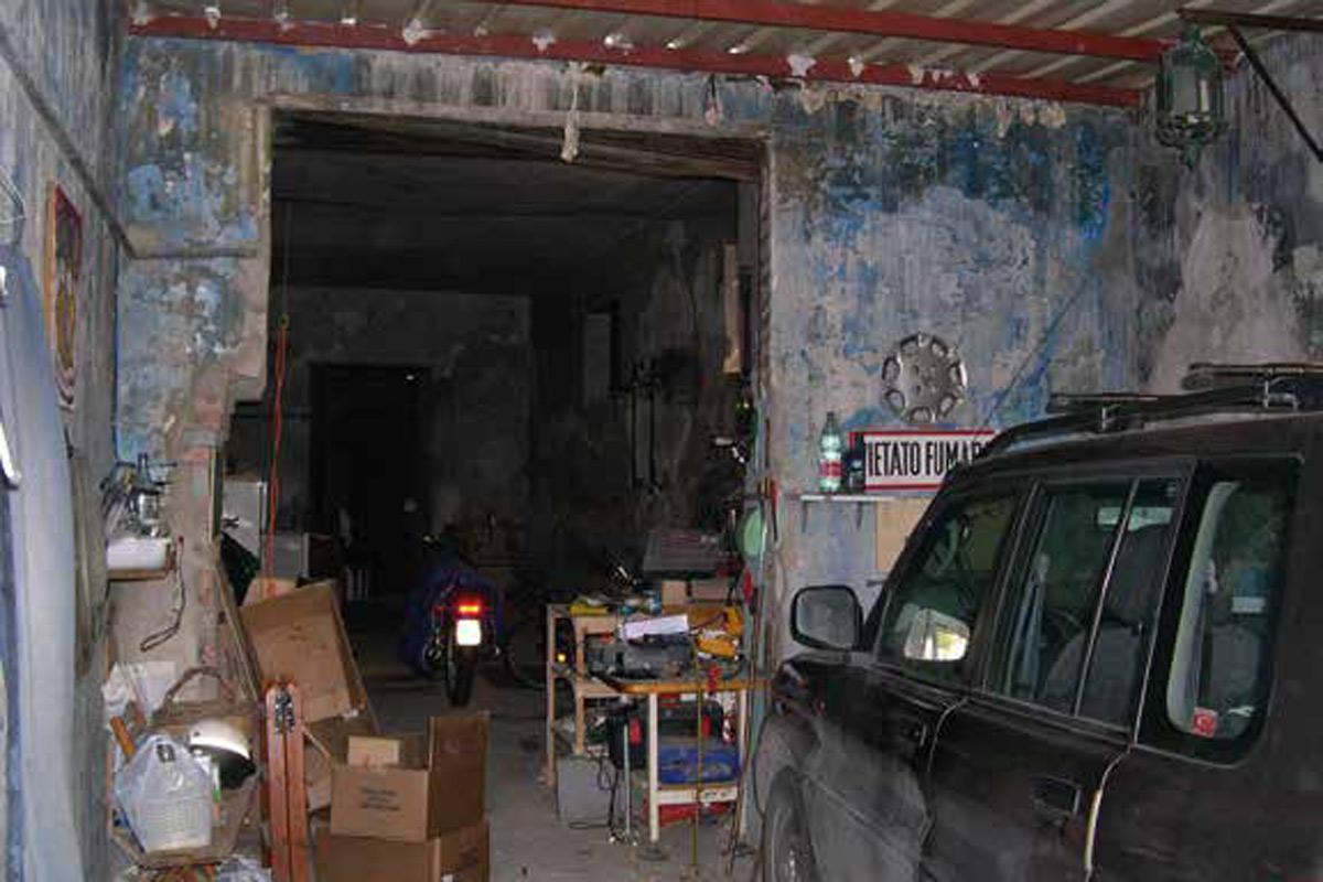 Casa in garage